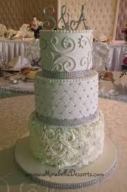 Cake Decoration Ideas With Gems by Best 25 Rosette Wedding Cakes Ideas On Pinterest Gold Wedding