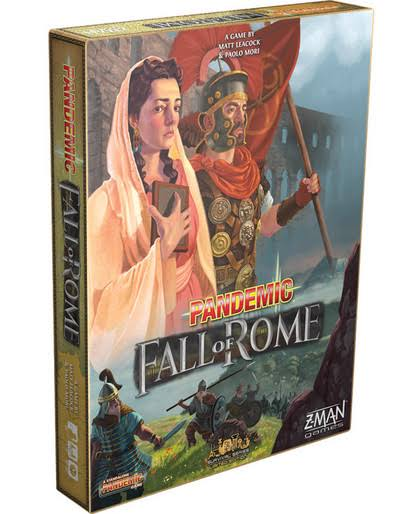 Z-Man Games Pandemic Fall of Rome