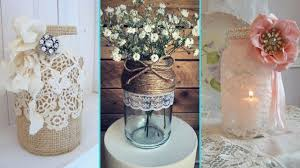 DIY Rustic Shabby Chic Style Mason Jar Decor Ideas