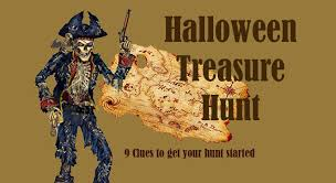 Easy Halloween Scavenger Hunt Clues by Free Halloween Treasure Hunt Clues Adapt For Your Party