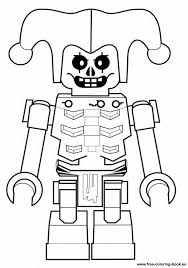 Golden Ninja Lego Coloring Page Crokky Pages