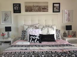 Paris Inspired Bedroom Interior Decorating