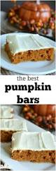 Pumpkin Cake Mix Bars by Pumpkin Bars With Cream Cheese Frosting Little Dairy On The Prairie