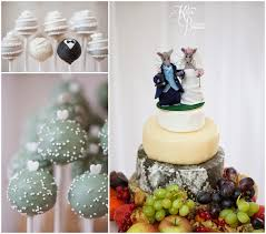 Cake Pops Cheese Wedding Priory Cottages