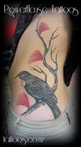 Tui Tattoo By Steve Nesbit