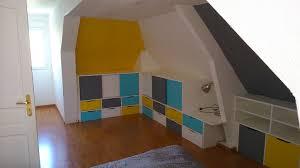chambre enfant sur mesure rangements en soupente chambre d enfant brodie agencement