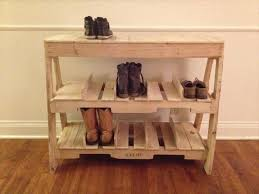 This Wooden Pallet Rack Is Some Wide And It Due To So That You Can Put Your Shoes Easily In Catch Them Comfortably From Here