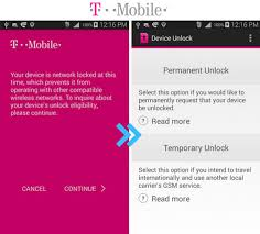 How to unlock phone from T Mobile with Device Unlock App