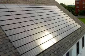 pv solar shingles roof from tesla evolution of solar roofing