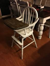 Chalk Paint And Stained Old Wood High Chair | Furniture In 2019 ... Pen Hive Updating An Antique High Chair With Old Fashioned Finish Topic For Wooden Baby Chairs Wood High Chair Highchairs Chairs Peterson Stroller Vintage Oldretro Walker Seat Vintage Old Antique Mahogany Bar Back Chairs And Oak Diddle Dumpling Favorite Yard Sale Find Repurposing A C Schreier Designs Collapsible Kroll Price Ruced Jenny Lind Painted Hazel Mae Home Hand Amazon Highchair Rental Minted And Los Angeles Thing