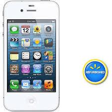 Straight Talk Apple iPhone 4 8GB Prepaid Smartphone White