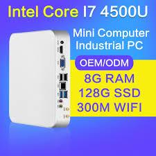 pc bureau wifi xcy mini pc i3 4010u i5 4200u i7 4500u 8 gb ram 128 gb ssd wifi