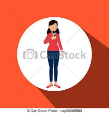 News Reporter Design Vector Illustration Eps10 Graphic