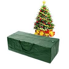 Artificial Christmas Tree Storage Bag Green Upright