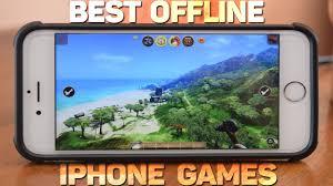 TOP 10 Best fline iPhone Games 2016 2017 NO Internet