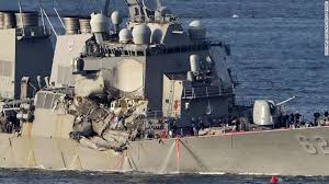 Uss America Sinking Photos by Us Navy Destroyer Fitzgerald Missing Sailors Found Dead Cnn