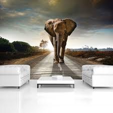 consalnet vliestapete elefant verschiedene motivgrößen für das büro oder wohnzimmer