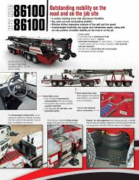 100 Two Ton Truck 100 US Ton85 Metric Ton Hydraulic Crane 100 US