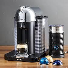 Nespresso By Breville VertuoLine Chrome Coffee Espresso Maker Bundle Reviews