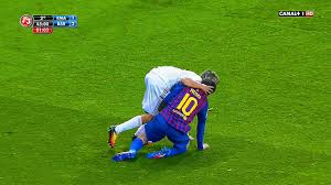 evil madrid cf 10 actions vs lionel messi disgusting club hd