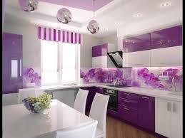 Purple Kitchen Cabinets Purple Kitchen 10