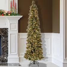 Pencil Xmas Trees Pre Lit by Christmas Trees Slim Pre Lit Gallery Of U Prelit Slim Tattinger