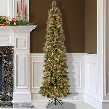 Pre Lit Pencil Cashmere Christmas Tree by Christmas Trees Slim Pre Lit Gallery Of U Prelit Slim Tattinger