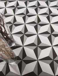 indoor tile floor porcelain stoneware geometric pattern