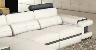 canapé gris design canape cuir blanc design design dangle iv en angle canape dangle