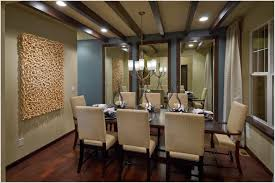 Formal Dining Room Wall Art Including Mirrors And Modern 2017 Picture Drapes With Chandeliers In