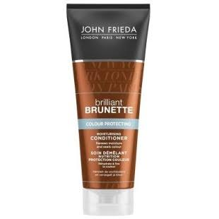 John Frieda Brilliant Brunette Moisturising Conditioner - Colour Protecting, 250ml
