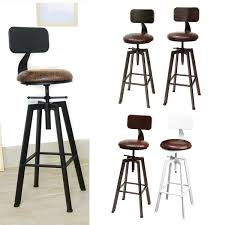 US $94.72 52% OFF|4 Colors Vintage Retro Craft PU Leather Bar Chair Stool  360 Degree Rotate Counter Lift High Chair Stool Home Bar Decoration New-in  ... Napoonrockefellercom Colctables Vintage And Painted Fniture Antique High Chair Lesleigh Frank Vintage Highchair With A Modern Bling Twist Trade Me Hello Dolly Handpainted Wood Highchair With Baby Crib Mattress Dollhouse Nursery 112 Scale Professionally Painted Wooden High Chair Jenny Lind Antique Highchair White 46999291 In Ascp Duck Egg Blue My Danish Modern Chrome Drafting Accent Ansley Designs Gold White Metamorphic