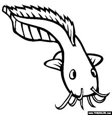 Nasrallah Fish Coloring Page