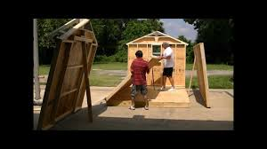 Backyard Sheds Jacksonville Fl by Jacksonville Sheds Built On Site In Just A Few Hours Youtube
