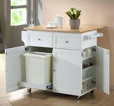 Appliance Storage Cabinet Mid Sized Transitional Galley Medium