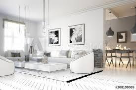 raumadaptation wohnzimmer projekt fototapete