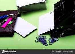 pochette bureau articles de papeterie pour bureau trou perforateur flans
