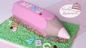 nicoles zuckerwerk i einschulungstorte i schulanfang i