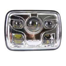 Square 5X7 Inch Led Headlight Daymaker Sealed Beam Replacement DOT ... Led Headlights For Jeep Trucklite Goes A Run Youtube Strobe Umbrella Light Fresh Truck Lite Lights 2inch Square Cree Fog Kit For 1114 Chevrolet Silverado Avian Eye Linear Emergency 3 Watt Bar 55 In Tow Riorand Water Proof 2 27w 4 Flood Beam 60 Degree Work Ece Right Hand Traffic 7 Round Diode Headlight 27450c 1pcs Auto Driving 60w Led Work Light 12v 24v Tow Truck Bars Bars Lamps Ideas Lighting Cap World Rack Toyota Tacoma Bed Fits Years And Up With D2series Flush Mount Rpg Offroad