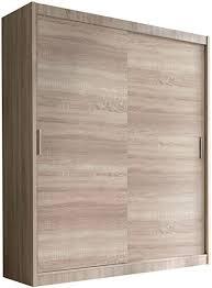 schwebetürenschrank alfa kleiderschrank mit spiegel modernes schlafzimmerschrank schiebetür schrank schlafzimmer 150 cm ohne spiegel eiche