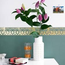 wandgestaltung mit bordüre bild 3 living at home