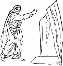 Click The Lazarus Coloring Pages