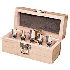 dovetail jig router bit set by peachtree woodworking pw3437