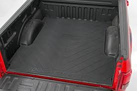 100 Rubber Truck Bed Liner Mat W Rough Country Logo For 20072018 Chevrolet