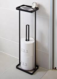 yamazaki toilettenpapierständer mit ablage badezimmer
