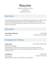 Select Template A Sample Of Heavy Resume