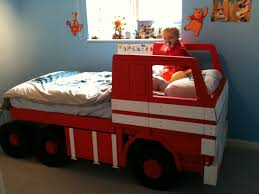 Fire Truck Tent Bed - Home Design Ideas