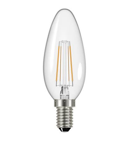Energizer Filament Led Light - Warm White, E14, 250 Lumens