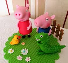 peppa wutz die lustige schweinchenfamilie als tortendeko