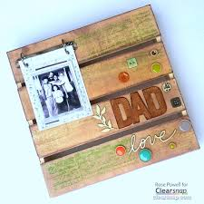 Shadow Box For Dad DIY Fathers Day Gift DIY ○ Gifts